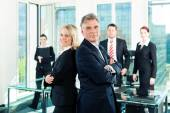 Business - team in an office — Stock Photo