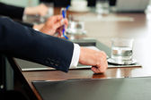 Applause for a presentation in meeting — Stock Photo