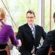 Job Interview with HR and applicant — Stock Photo #72765897
