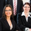 Businesspeople have team meeting in an office — Stock Photo #72765921