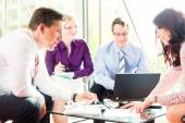Business people having meeting in office — Stock Photo