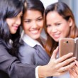 Asian Business women taking selfie — Stock Photo #72931637
