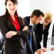 Business - People in office working as team — Stock Photo #72948145