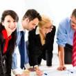 Business - People in office working as team — Stock Photo #72948147