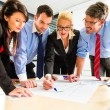 Business - People in office working as team — Stock Photo #72948179