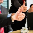 Business - businesspeople have team meeting — Stock Photo #72947797