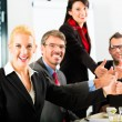 Business - businesspeople have team meeting — Stock Photo #72948109