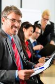 Business - businesspeople have team meeting — Stock Photo
