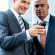 Indian and Caucasian business men — Stock Photo #73120741