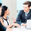 Business people discussing project — Stock Photo #73120749