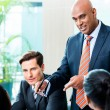 Indian Business man - meeting — Stock Photo #73120789