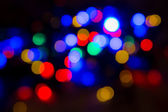 Blurred christmas lights abstract background — Stock Photo