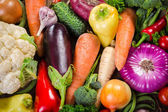 Assortment of colorful vegetables — Stock Photo