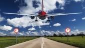 Passenger plane — Stock Photo