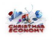 Christmas economy — Stock Photo