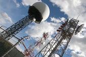 Radar base — Stock Photo