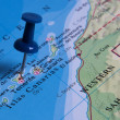 Pin in map — Stock Photo #53792139