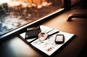 İş, çalışma alanı'nın finansal analiz — Stok fotoğraf