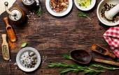 Spices for use as cooking ingredients — Stock Photo