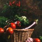 Organic vegetables — Stock Photo #80903662
