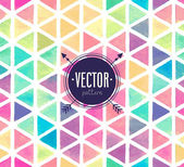 Vector Watercolor seamless pattern. — Stock Vector