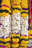 Beautiful flowers garland in asia, Mumbai, India — Foto Stock