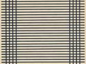 古纸空白页表与黑色的线 — 图库照片