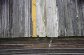 Old used  farm barn wall wooden background — Stock Photo