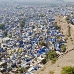 Jodhpur city  from Mehrangarh Fort, Rajasthan, India — Stock Photo #64419465