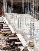 Betonová schodiště — Stock fotografie