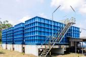 Water filtration plant — Stock Photo