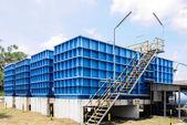 Water filtration plant — Foto de Stock