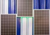 Modern solar cell — Stock Photo