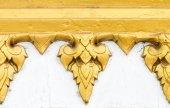 Golden flower pattern — Foto de Stock