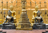 Small Buddha statue — Stock Photo