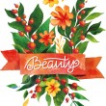 Watercolor flower card. Beautiful Floral Greeting Card Bright illustration invitation card. Ribbon decorative illustration — Stock Vector #78131710