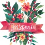 Watercolor flower card. Beautiful Floral Greeting Card Bright illustration invitation card. Ribbon decorative illustration — Stock Vector #78131764