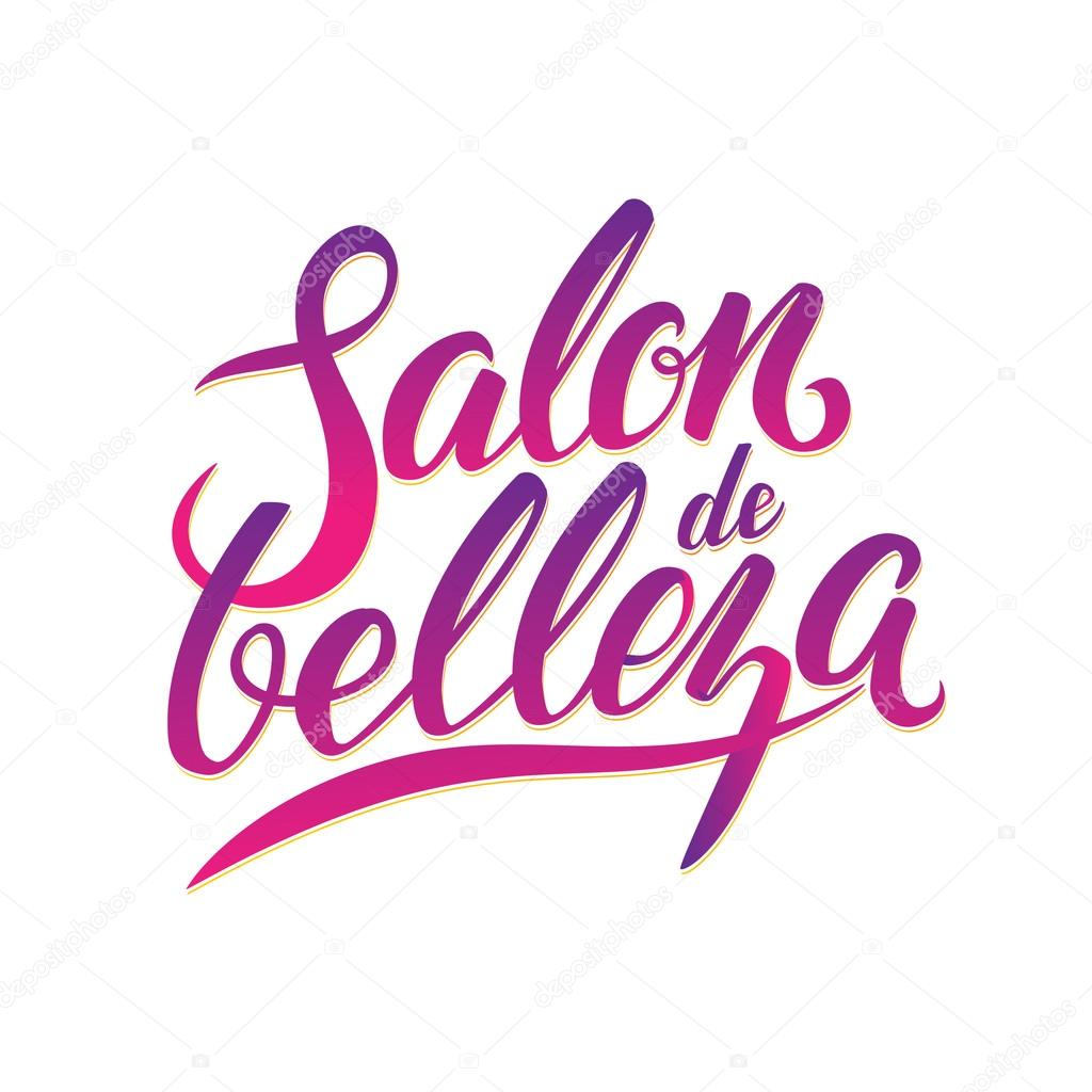 Sal 243 N De Belleza De Logo De Caligraf 237 A Vector De Stock
