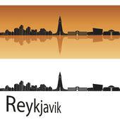 Reykjavik skyline — Stock Vector