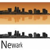 Newark skyline — Stock Vector