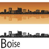 Boise skyline — Vetor de Stock