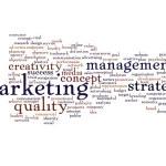 Success or teamwork marketing word cloud — Stock Photo #67737007