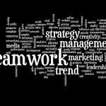 Teamwork word cloud — Stock Photo #67994411
