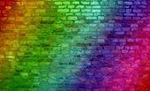 Graffiti old  grungy brick wall — Stock Photo