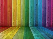 Colorful old vintage grungy wall — Stockfoto