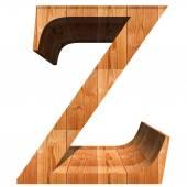 Conceptual wood font — Stockfoto