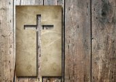 Christian religious cross — Stock Photo
