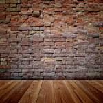Floor and brick wall — Stock Photo #68931343