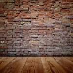 Grungy brown  brick wall — Stock Photo #69287485