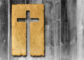 Traversa religiosa cristiana — Foto Stock